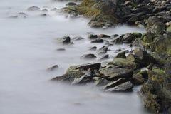 Cliff Walk in Rhode Island Stockfotografie
