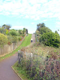 Cliff walk, Shanklin, Isle of Wight. Royalty Free Stock Photo