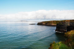 Cliff walk view Royalty Free Stock Image