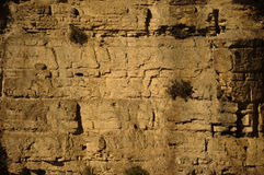 Cliff wall Stock Image