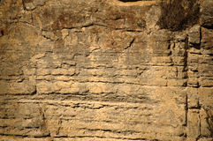 Cliff wall Stock Photography