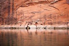 Cliff Walls Glen Canyon, Arizona Fotografía de archivo
