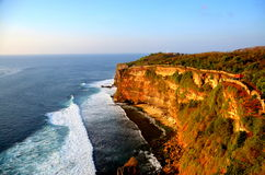 The Cliff, at the Water Temple Bali Stock Images