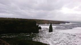 Cliff' s在Irland 图库摄影