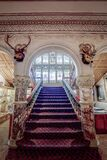 Cliffe Castle Staircase Royalty Free Stock Image