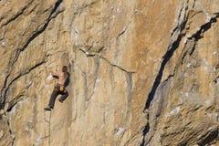 Cliffhanger. Stock Photos