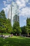 Clifford Chance Offices und Jubiläum-Park, Docklands Lizenzfreie Stockfotos