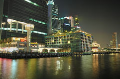 Clifford Pier, Singapore Stock Image