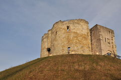 Clifford's Tower Royalty Free Stock Photography