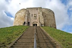 Clifford's Tower Stock Image