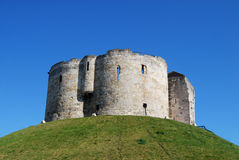 Clifford's Tower, York Royalty Free Stock Photography