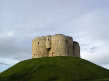 Clifford S Tower, York Castle Stock Images