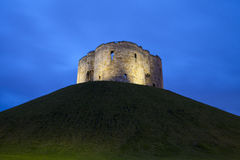 Clifford's Tower in York Royalty Free Stock Image