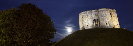 Clifford's Tower in York Stock Image