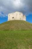 Clifford`s Tower, York. Stock Image