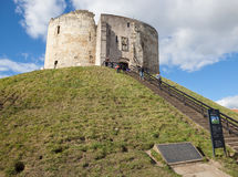 Clifford`s Tower, York. Stock Photography