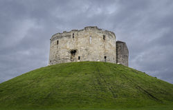 Clifford's Tower, York, UK Stock Image