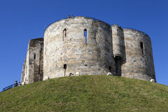Clifford's Tower in York Stock Images