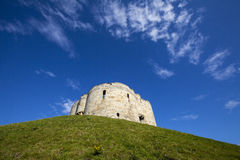 Clifford's Tower in York Stock Photos