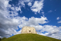 Clifford's Tower in York Royalty Free Stock Photos