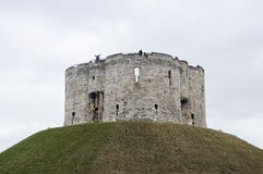 Clifford Tower, York, England Royalty Free Stock Image