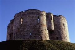 Cliffords Tower. York, England Royalty Free Stock Photos