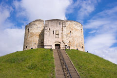 Cliffords Tower in York, nbgland, UK Stock Photo