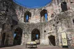 Cliffords Tower in York Royalty Free Stock Photos
