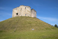 Cliffords Tower in York Royalty Free Stock Photo