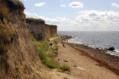Cliffs. Active cliffs on island Rügen stock photos
