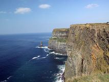 Cliffs. Too Ireland on ocean Royalty Free Stock Image