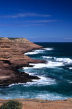 Cliffs. Coastal rock-cliffs in west-Australia royalty free stock photos