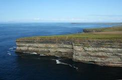 Cliffs Across from Ceide Fields Stock Image