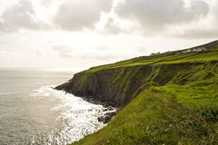 Cliffs along the Coast of Ireland Royalty Free Stock Photography