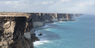Cliffs. Along the Nullarbor, South Australia Stock Images