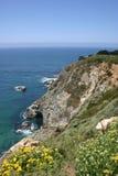 Cliffs along seacoast Stock Photography