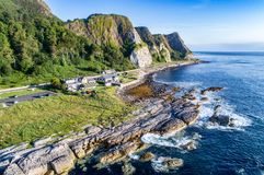 Free Cliffs And Causeway Coastal Route, Northern Ireland, UK Stock Photos - 108971053