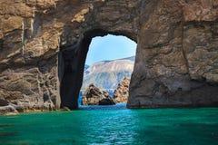 Free Cliffs And Rocks Of Lipari, Italy. Stock Photos - 70126803