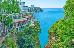 The cliffs of Antalya Stock Images