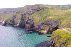 Cliffs of Antrim Coast Stock Photo