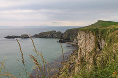 Cliffs of the Antrim Coast Stock Photo