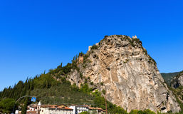 Cliffs of Arco di Trento - Trentino Italy Royalty Free Stock Photography