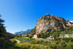 Cliffs of Arco di Trento - Trentino Italy Royalty Free Stock Photos