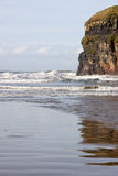Cliffs of Ballybunion with reflections Royalty Free Stock Photography