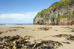 Cliffs of Ballybunion on the wild atlantic way Stock Photography