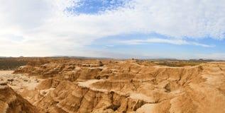 Cliffs in Bardenas Reales Biosphere Reserve, Spain Stock Photos