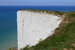 Cliffs at Beachy Head on the south coast of England Stock Photography