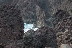 Close up of cliffs stock photography