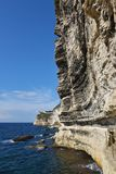 Cliffs of Bonifacio, Corsica Stock Images