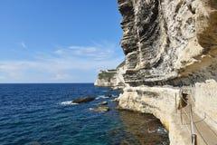 Cliffs of Bonifacio, Corsica Royalty Free Stock Photo